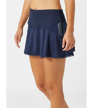 Lucky in Love Lucky in Love Long Mix It Up Skirt Navy