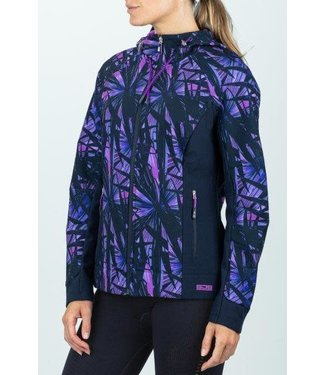 Sjeng Sports Sjeng Iman Hooded Jacket Purple