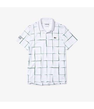 Lacoste Lacoste Sport Polo Print White/Green