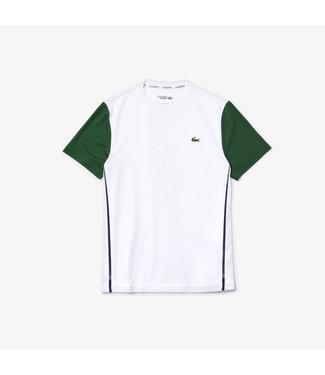 Lacoste Lacoste Sport Tee White/Green