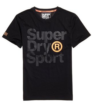Superdry Superdry Sport Graphic T-Shirt Black