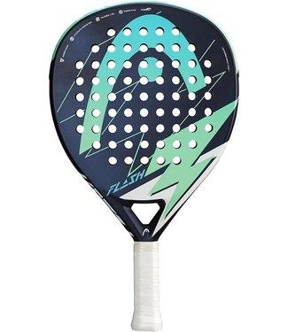 Head Head Flash Padel Racket Blauw Groen