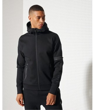 Superdry Superdry Sport Training Gymtech Ziphood Black