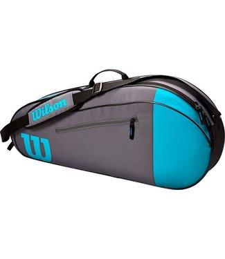 Wilson Wilson TEAM 3 PK Tennistas BLUE/GREY