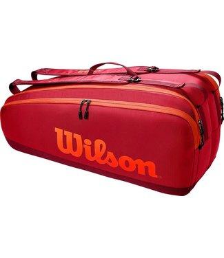 Wilson Wilson Tour 6 PK Tennistas Red/Orange