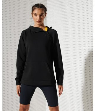 Superdry Superdry Sport Training Half Zip Overhead Black