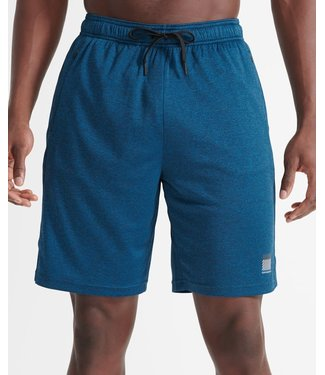 Superdry Superdry Sport Training Relaxed Shorts Blue