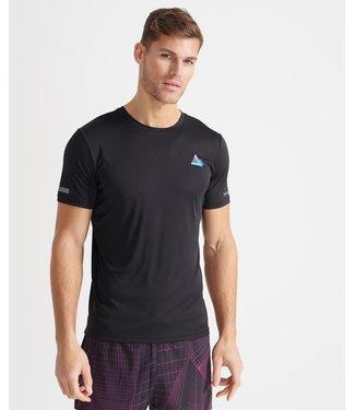 Superdry Superdry Sport Run Beyond Limits T-Shirt Black
