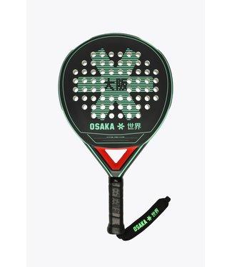 Osaka Osaka Padel Racket - Vision - Precision Frame - Soft Touch - Jade Groen