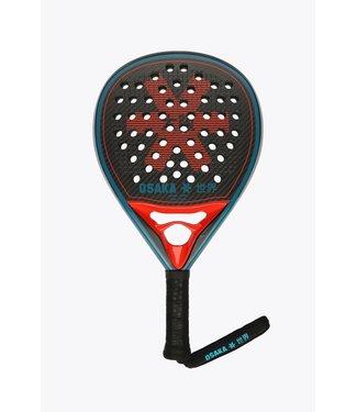 Osaka Osaka Padel Racket - Vision Pro - Power Frame - Hard Touch - Oxy Red