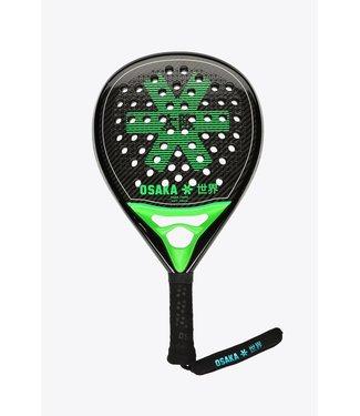 Osaka Osaka Padel Racket - Pro Tour - Power Frame - Soft Touch - Iconic Black