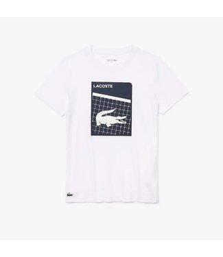 Lacoste Lacoste Sport T-Shirt Croco Blue