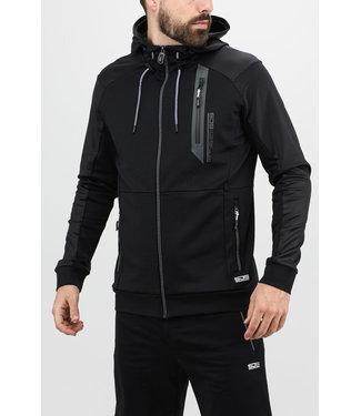 Sjeng Sports Sjeng Jules Hooded Jacket Black
