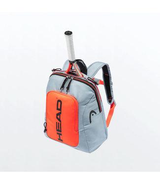 Head Head Kids Rebel Backpack Grey/Orange
