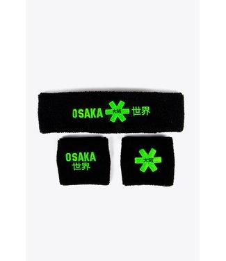 Osaka Osaka Sweatband Set 2.0 Black