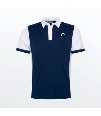Head Head Davies Polo Shirt Navy