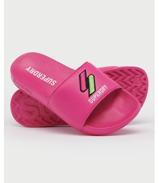 Superdry Superdry Patch Pool Slippers Pink