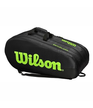 Wilson Wilson Team 3 Comp Tennistas Black/Green