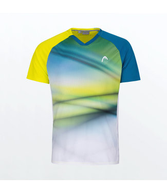 Head Head Striker T-Shirt Yellow