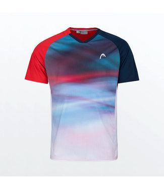 Head Head Striker T-Shirt Red