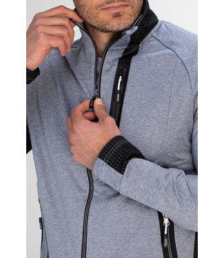 Sjeng Sports Sjeng Moritz Track Jacket Grey Melange