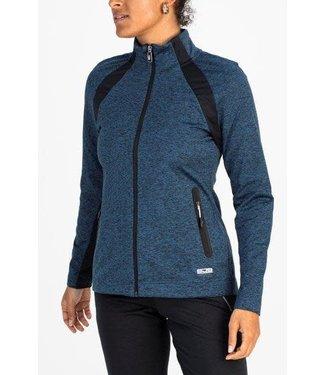 Sjeng Sports Sjeng Oksana Track Jacket Black Melange