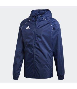 Adidas Adidas Core 18 Rain Jacket Junior Navy
