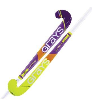 Grays Grays 100i Ultrabow Hout Junior Indoor Purple/Yellow
