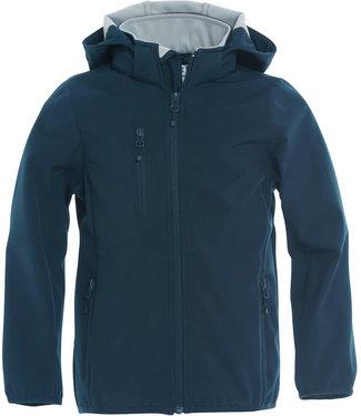 Basic Softshell Jacket Junior Navy