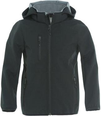 Basic Softshell Jacket Junior Black
