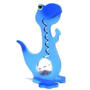 BigBellyBank Tierkässeli - Dino blau inkl. Spardino-Kinderbuch