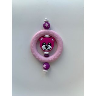 Wurmito Beissring rosa/pink