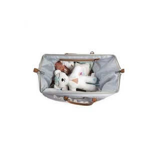 Childhome Mommy Bag gross grey off white