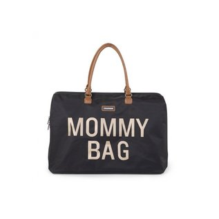 Childhome Mommy Bag gross black gold