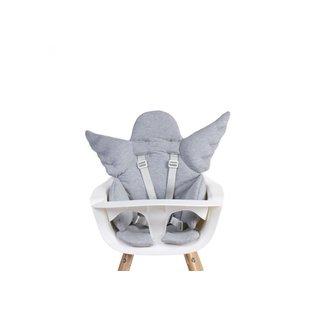 Childhome Sitzkissen Engel jersey grey