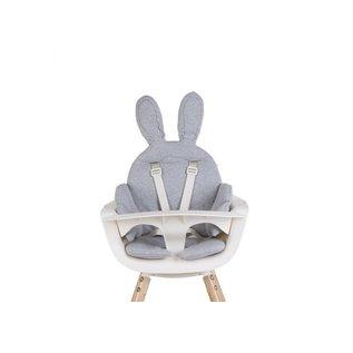 Childhome Sitzkissen Kaninchen jersey grau