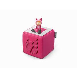 tonies Tonie Box Starterset pink mit Kreativ-Tonie