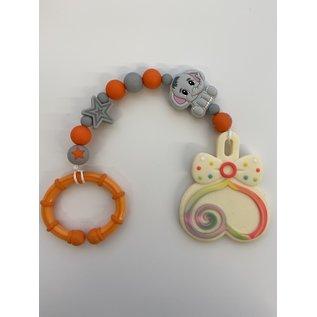 Wurmito Beisskette orange/grau