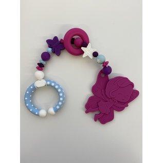 Wurmito Beisskette blau/violett