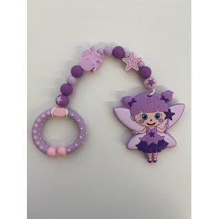 Wurmito Beisskette violett