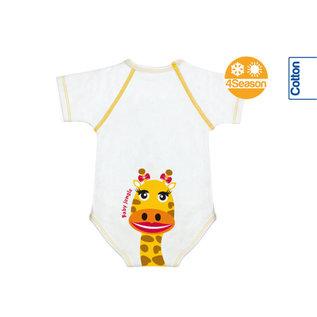 Vivosan J Bimbi Kurzarm-Body Giraffe