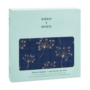 aden + anais Decke dream blanket - metallic gold deco