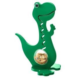 BigBellyBank Tierkässeli - Dino grün einfarbig