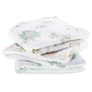 aden + anais Spucktuch muslin squares -  the lion king