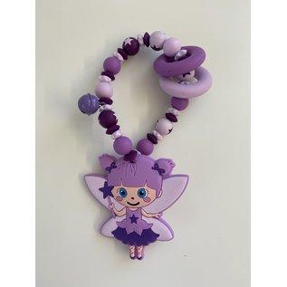 Wurmito Beissringkette flieder/violett