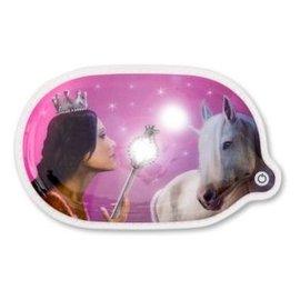 ergobag LED-Klettie Prinzessin