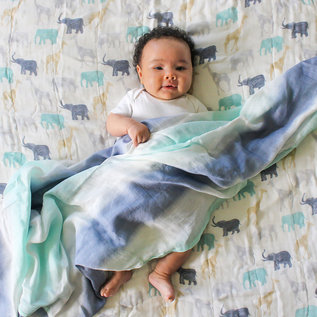 aden + anais Pucktuch silky soft swaddle - expedition