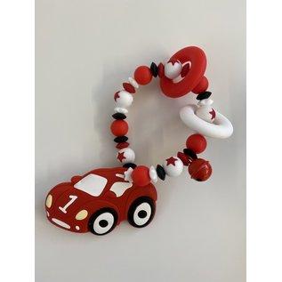 Wurmito Beissringkette rot Auto
