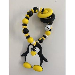 Wurmito Beissringkette gelb Pinguin