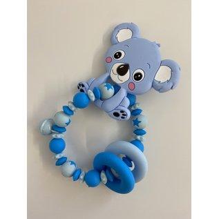 Wurmito Beissringkette blau Koala